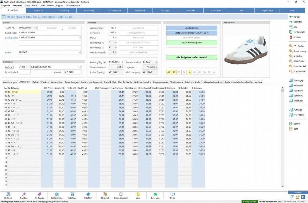 TopM-elius6-Screen-Modul-Artikelverwaltung-Listenpreise