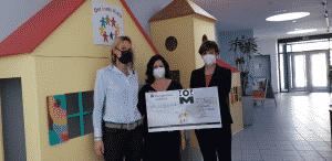 TopM-Spendenübergabe 2021 Der Bunte Kreis